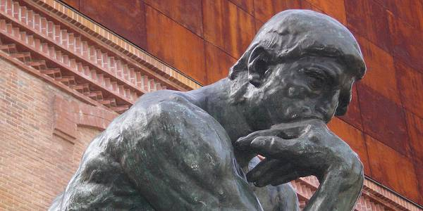 Rodin's Thinker Contemplating Forming a Social Enterprise | engageSPARK