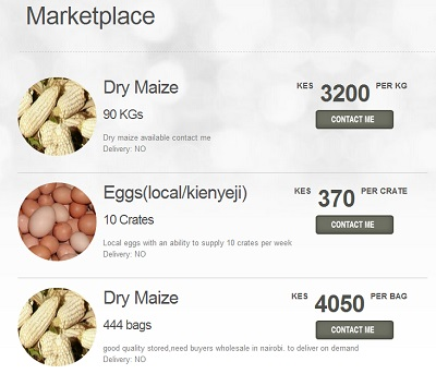 m-Agriculture m-Farm marketplace