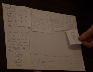 Paper Prototyping Usability Testing