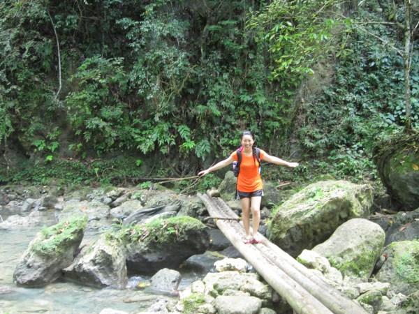 JN Fang engageSPARK Fellow nature hike in Cebu