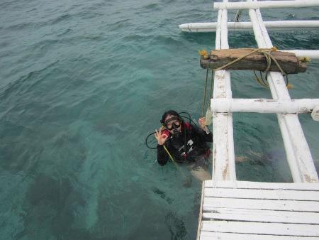 JN Fang engageSPARK Fellow Scuba diving