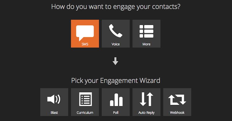 engageSPARK self-service platform